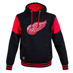 Толстовка NHL Detroit Red Wings (Black/Red)