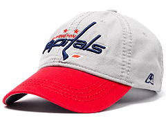 Бейсболка NHL Washington Capitals серая